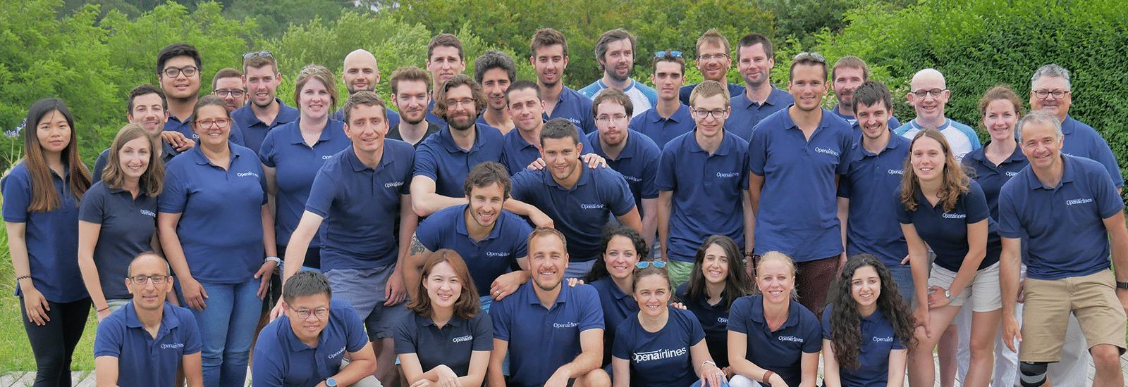 OpenAirlines team