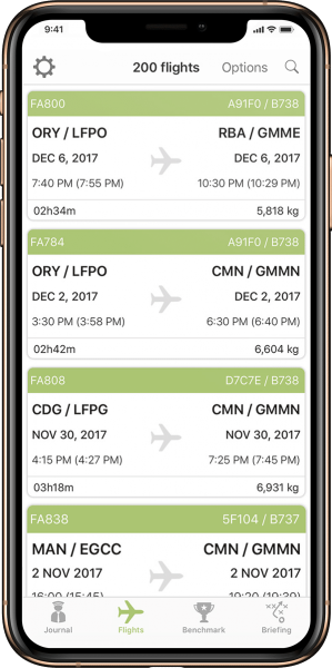 My Fuel Coach Flights