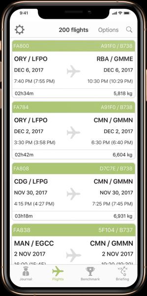 My Fuel Coach Flights
